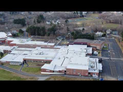 Flight around Winnacunnet High School