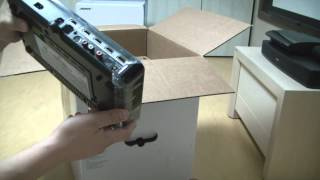 new bose cinemate 520 home theater speaker system unboxing hd
