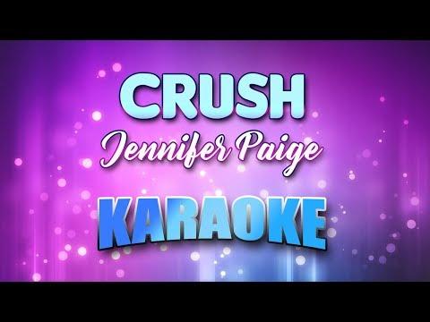 Jennifer Paige - Crush (Karaoke & Lyrics)