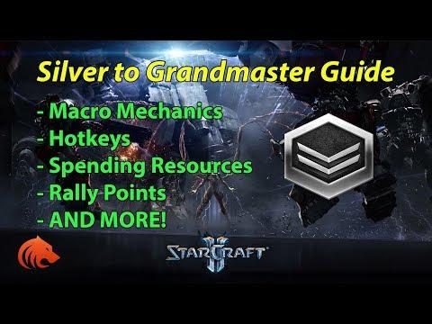 StarCraft 2: Macro Mechanics, Hotkeys & Spending Resources - Silver to Grandmaster Guide - PART 2/7