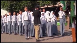 MAN Kota Blitar Pelantikan Pengurus OSIS 2015 2016