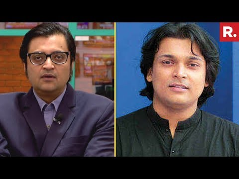 Arnab Goswami Confronts Rahul Easwar Over Attack On Republic TV's Crew