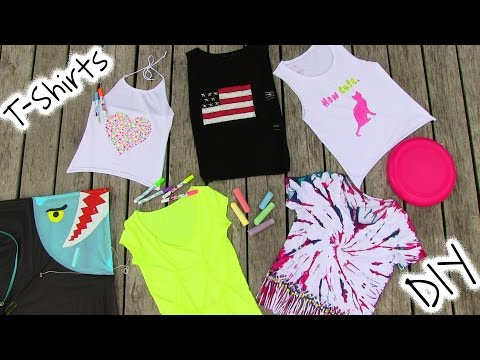 Thumbnail: DIY Clothes! 5 DIY T Shirt Projects - Cool!