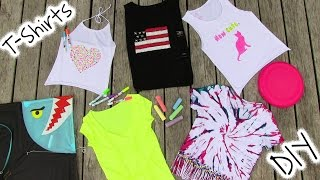 DIY Clothes! 5 DIY T Shirt Projects - Cool! thumbnail