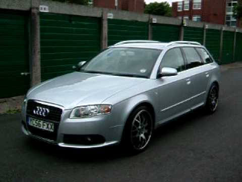audi a4 avant 2 0 tdi b7 s line bbs youtube. Black Bedroom Furniture Sets. Home Design Ideas