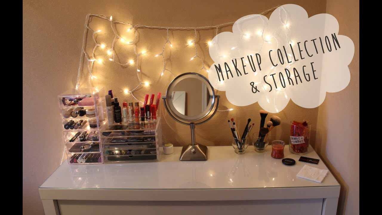 Makeup Collection And Storage   YouTube