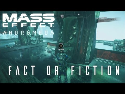 Mass Effect Andromeda - Fact or Fiction (side quest)