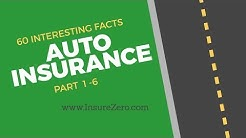 60 Interesting Facts About Auto Insurance PART 1-6
