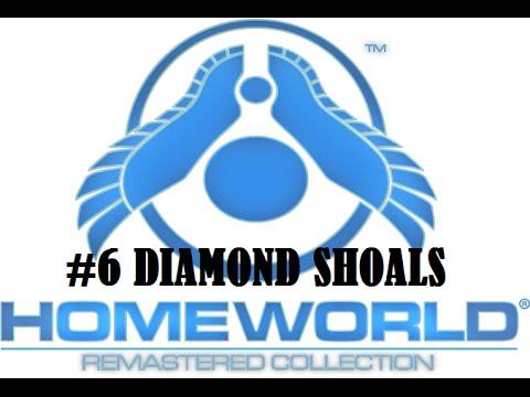 Homeworld Remastered gameplay #6 Diamond Shoals |