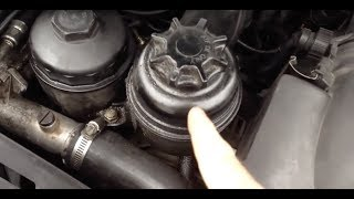 How to service BMW power steering fluid and what kind to use M3 e36 e34 e38 e39 e90 e92 M5 e60 e61