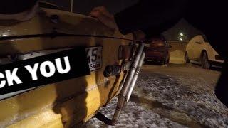Авария на 75к . Дрифт под мостом и на парковке . Сходка боевой классики.
