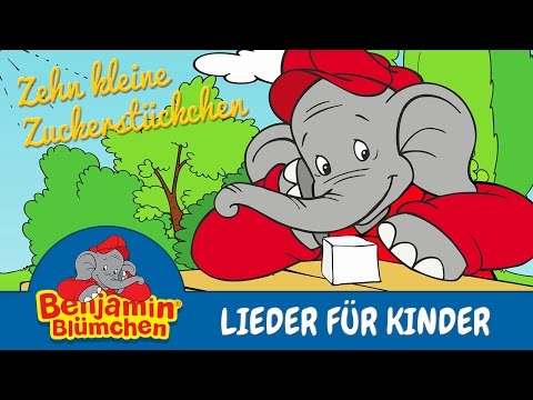 Benjamin Blümchen - Zuckerstückchen Song LIEDER FÜR KINDER mit TEXT zum Mitsingen