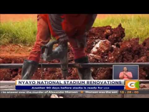 Nyayo National Stadium renovations