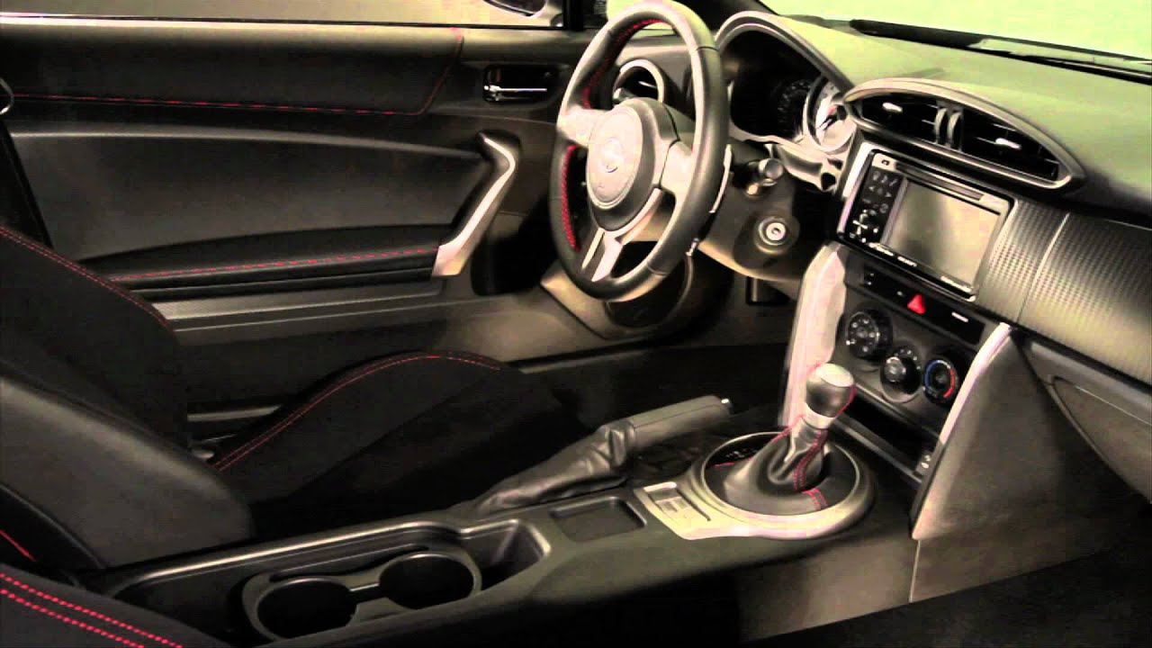 2013 scion fr s interior walkaround youtube for Scion frs interior accessories