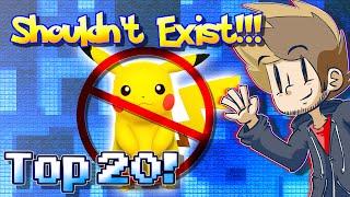 Top 20 Pokemon That SHOULDN