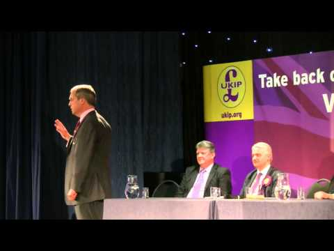 Nigel Farage - Leader of the UK Independence Party - 2 May 2014