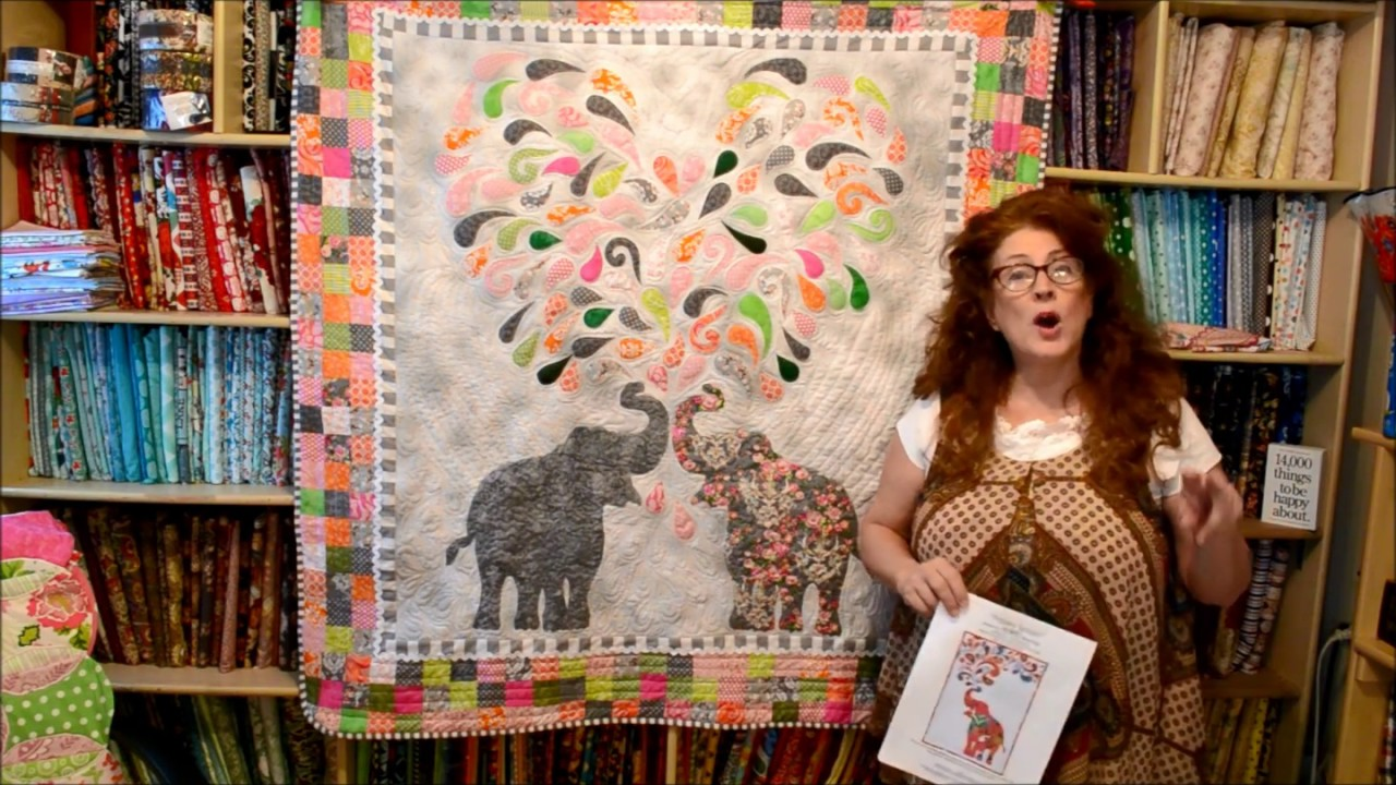 EPISODE 84 My Elephant Quilt PART ONE