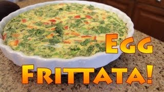 Simple, Healthy Egg Frittata Recipe
