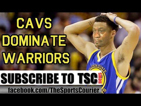 NBA Finals: Cavs Destroy Warriors 120-90 in Game 3