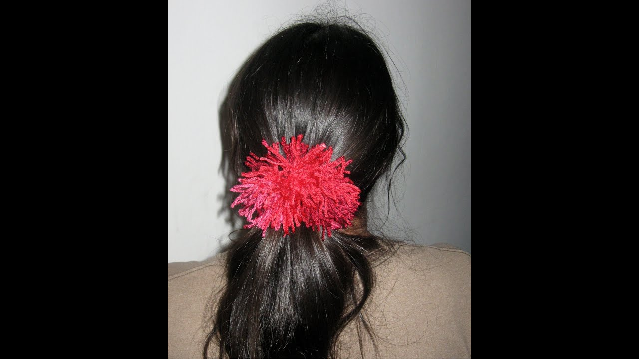 Shaggy Scrunchie Tutorial - Crochet Tutorial - YouTube