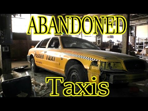 ABANDONED Taxi Company - See What They Left Behind