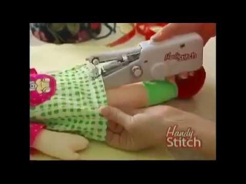 SMART MINI HANDHELD SEWING MACHINE YouTube Fascinating Handheld Sewing Machine Hobby Lobby