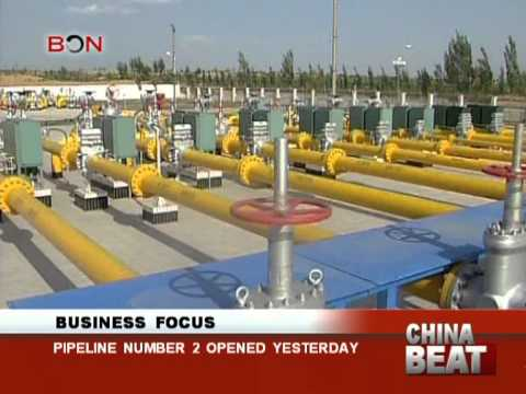 Pipeline Number 2 opened - China Beat - January 01,2013 - BONTV