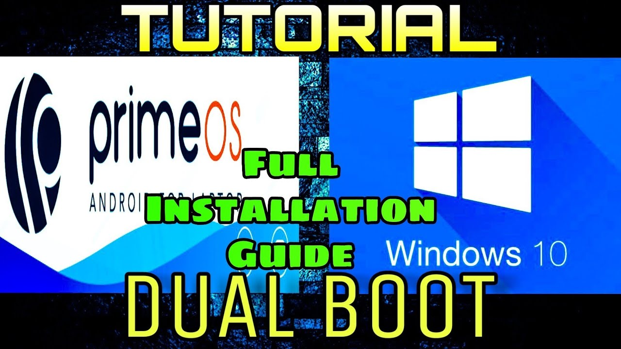 Prime OS Full Installation Guide | Dual Boot | Windows | The Techie Boy |