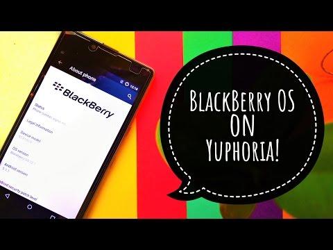 Install BlackBerry OS on Yuphoria! ~ OH MY GOD!!!