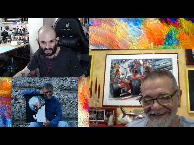 Chiacchiere aerografiche con Alberto Ponno - Aerografia & illustrazione