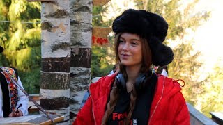 Гори, коні та «м'ясо білого ведмедика»: Марічка Яремчук показала Каті Осадчій рідні Карпати