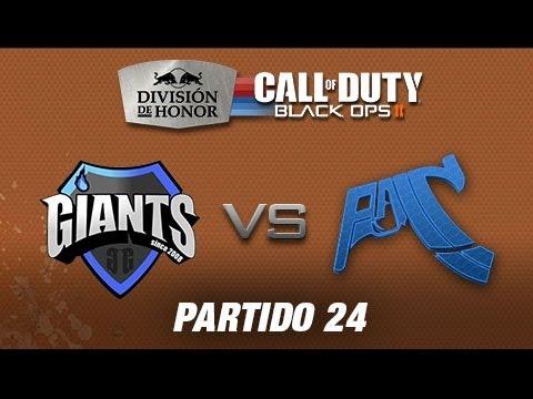 GIANTS vs Pain Gaming - #CODHonor División de Honor de Black Ops II Partido 24