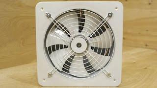 Мощный 2850 м3/час металлический вытяжной вентилятор PRO-300(Разбор вытяжного вентилятора PRO-300. Простой и надежный. Долговечный асинхронный (бесщеточный) двигатель..., 2016-05-09T08:21:55.000Z)