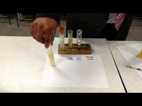 Emulsion stability test