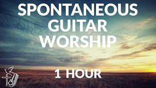 1 HOUR of Spontaneous Guitar Worship   Guitar Instrumental worship   Soaking Prayer Prophetic Music