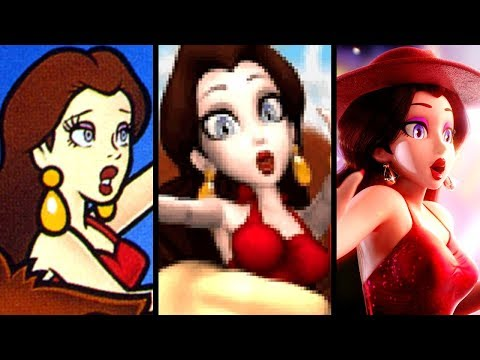 Super Mario Evolution of PAULINE'S VOICE 1994-2017 (Odyssey to GB)