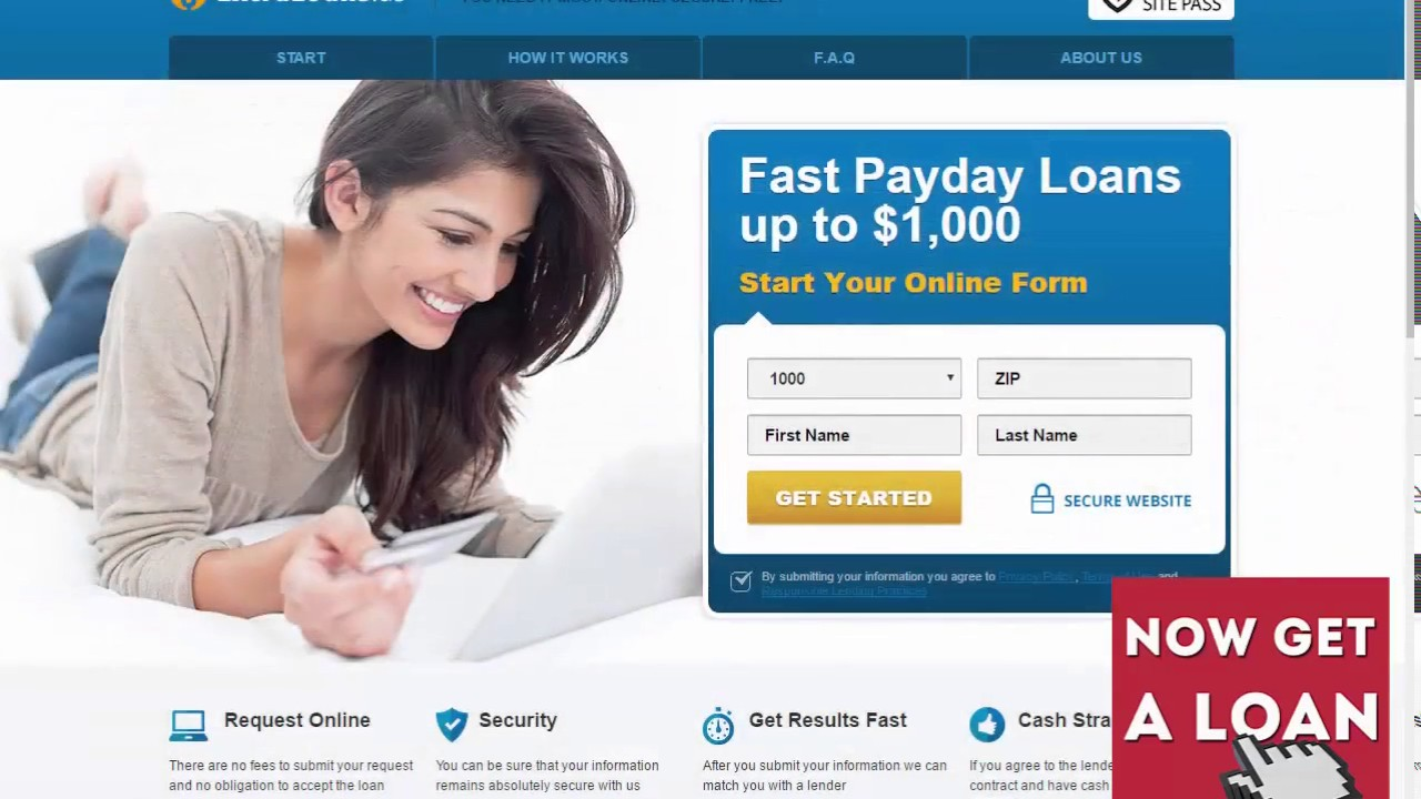 $1,000 Fast Payday Loans no Credit Check