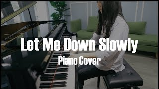 Alec Benjamin - Let Me Down Slowly - Piano Cover #AnCoong