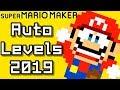 Super Mario Maker Top 12 AUTO COURSES (2019)