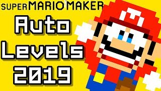 Super Mario Maker Top 12 AUTO COURSES (2019)