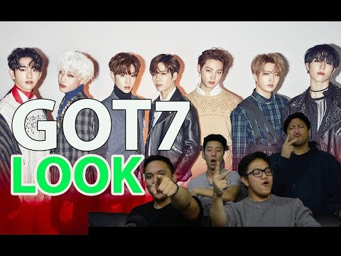 "well ""LOOK"" at that, another GOT7 MV reaction"