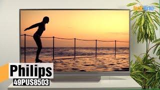 Philips 49PUS8503 — обзор 4К-телевизора на Android TV