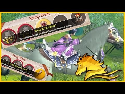 Horse Racing Summer Stamp Event in Alicia Online