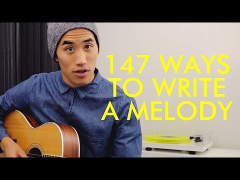 147 WAYS TO WRITE A MELODY | Andrew Huang