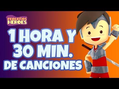 1-hora-y-30-mins-de-canciones-con-pequeños-héroes---canciones-infantiles