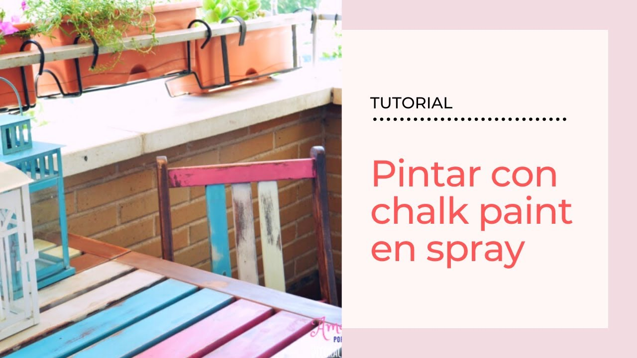 Transformar Muebles Tutorial Transformar Muebles Con Chalk Paint En Spray