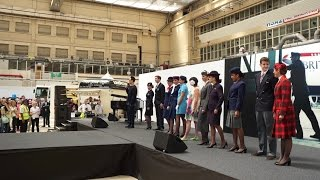British Airways Explore and Discover Open Day 2015 - Fashion show