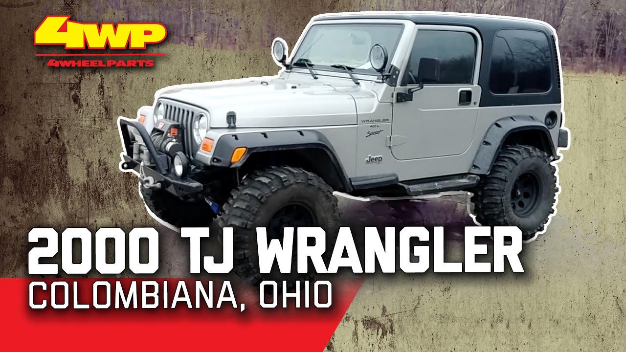 small resolution of 2000 jeep tj wrangler parts by 4 wheel parts youtube louvered hoods jeep wrangler tj 2000