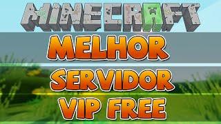 MELHOR SERVER DE MINECRAFT (TENHA VIP GRÁTIS!) [Pirata e Original] 1.5.2