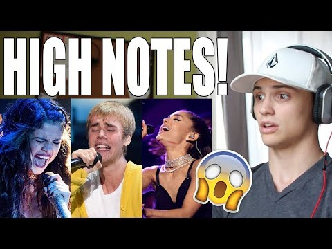 Famous Singers Hitting Their Highest Note EVER REACTION